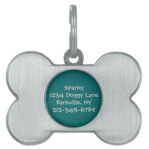 Dog , 7 Unique Customized Dog Tags With Pictures : Customized Dog Tag