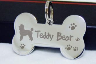 Double Sided Engraved in Dog