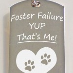 Failure Dog Tag , 6 Unique Engraved Picture Dog Tags In Dog Category