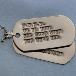 Gold Military Dog tags , 8 Fabulous Pictures Of Military Dog Tags In Dog Category