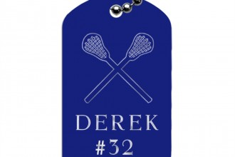 Lacrosse Dog Tag Necklaces , 8 Amazing Personalized Dog Tags With Pictures In Dog Category