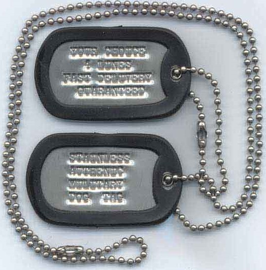 Dog , 8 Fabulous Pictures Of Military Dog Tags : Military Dog Tag
