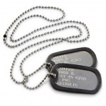 Military-style Dog Tags , 8 Fabulous Pictures Of Military Dog Tags In Dog Category
