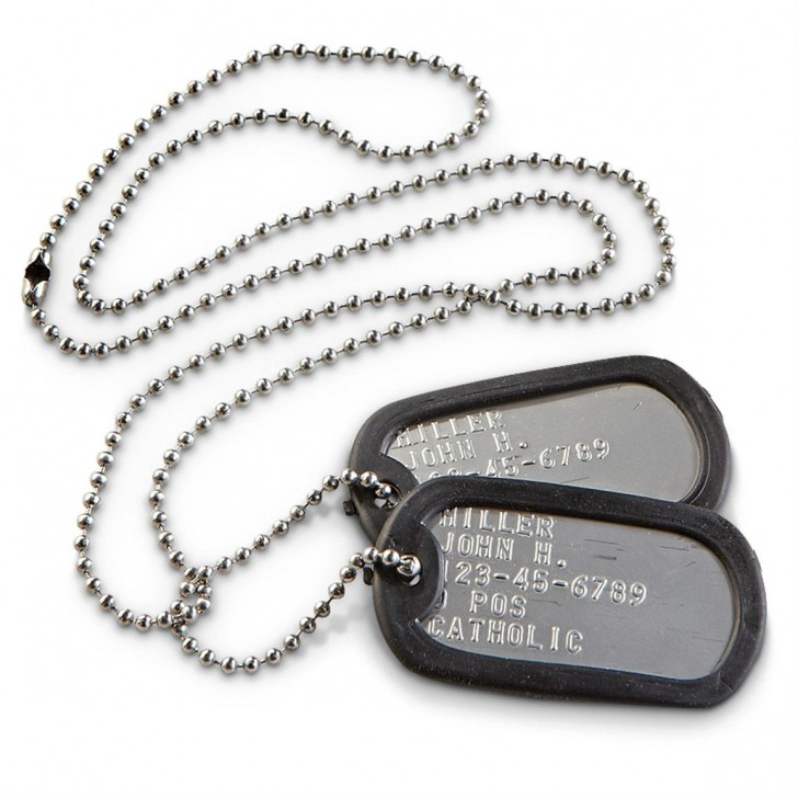 Dog , 8 Fabulous Pictures Of Military Dog Tags : Military Style Dog Tags