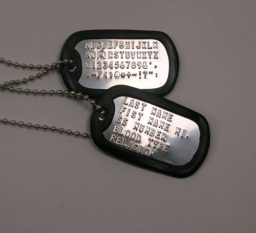 Dog , 8 Fabulous Pictures Of Military Dog Tags : Personalised Army Dog Tags