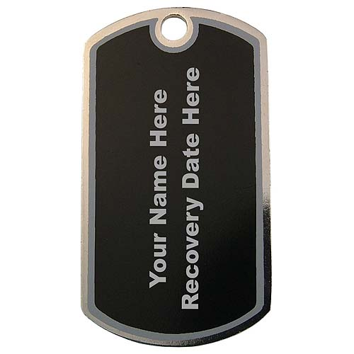 Dog , 5 Ultimate Personalized Picture Dog Tags : Personalized AA Symbol Dog Tag