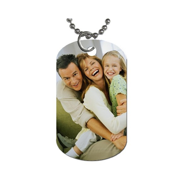 Dog , 5 Ultimate Personalized Picture Dog Tags : Personalized Dog Tag