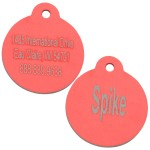 Personalized Red Aluminum Dog , 5 Ultimate Personalized Picture Dog Tags In Dog Category