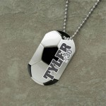 Personalized Soccer Dog Tag , 7 Unique Customized Dog Tags With Pictures In Dog Category