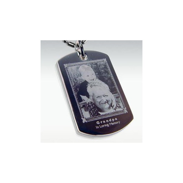 Dog , 6 Unique Engraved Picture Dog Tags : Photo Engraved Stainless