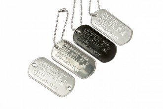 home dog tags in Skeleton