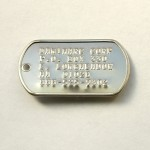 military dog tag , 8 Fabulous Pictures Of Military Dog Tags In Dog Category